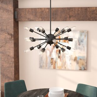 Mercury Row Defreitas 18-Light Sputnik Chandelier