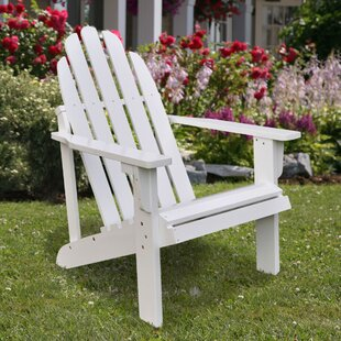 Diredra Solid Wood Adirondack Chair