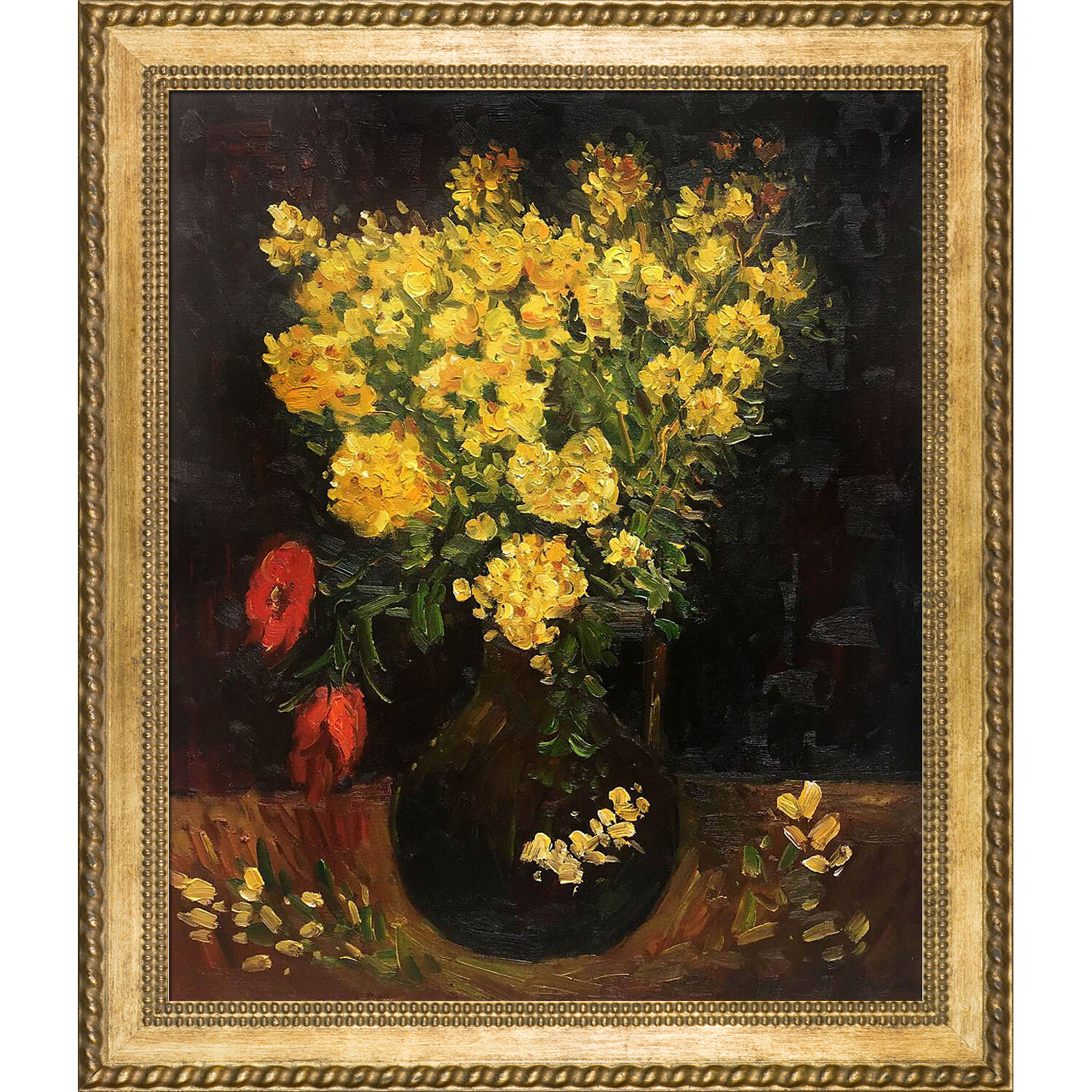 Tori Home Vase With Viscaria Poppy Flowers By Vincent Van Gogh