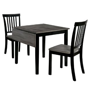 Cozine 3 Piece Dining Set by Winston Porter