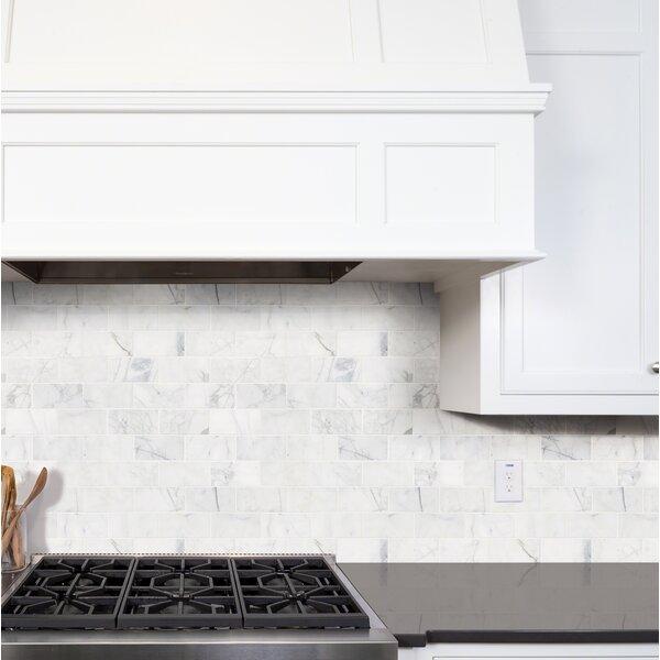 Calacatta Gold Marble Tile Wayfair