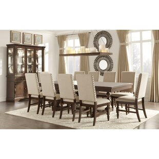 Dublin 9 Piece Dining Set Three Posts