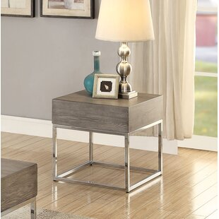 Criswell End Table by 17 Stories