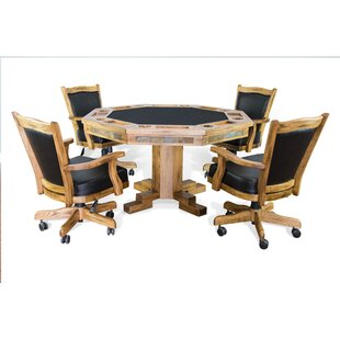 Fresno 5 Piece Dining Set by Loon Peak Great price