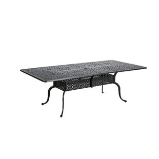 Dunnes Aluminum Dining Table by Darby Hom..