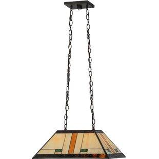 Meyda Tiffany Manhattan 2-Light Pool Table Light