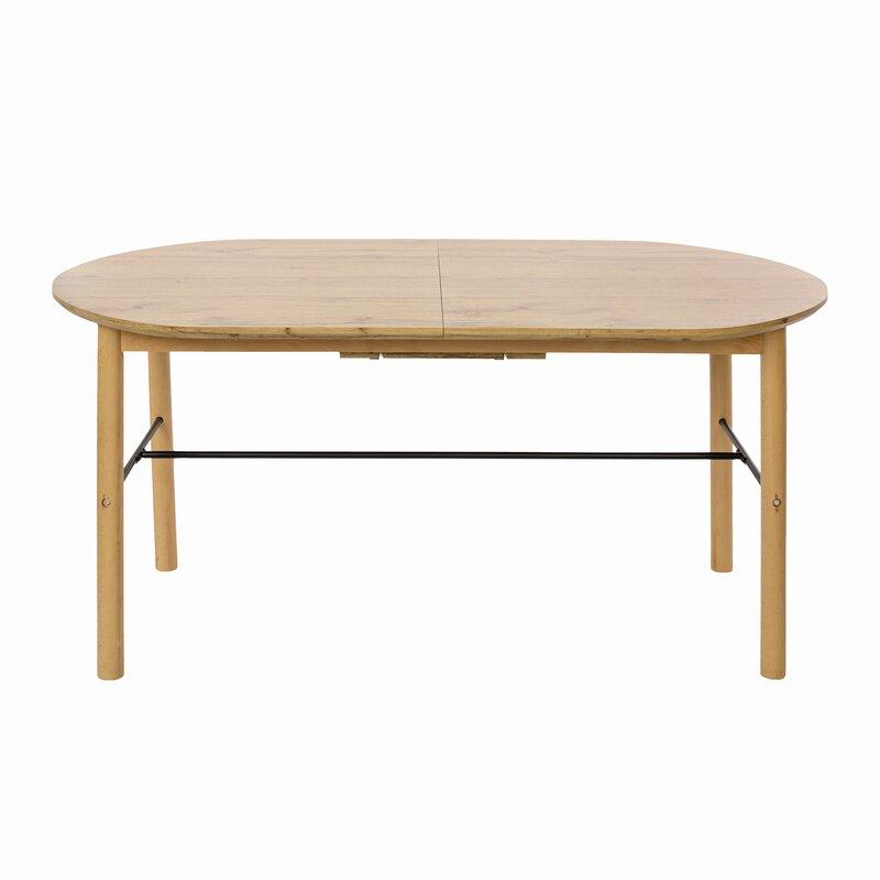 Corrigan Studio Sierra Butterfly Leaf Solid Wood Dining Table Wayfair