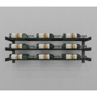 Evolution Series 18 Bottle Wall Mounted Wine Rack by VintageView