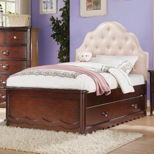 Scalf Tufted Upholstered Platform Bed by Harriet Bee