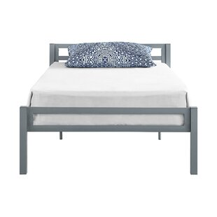 Doshie Metal Twin Platform Bed by Mack & Milo Cheap