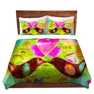 East Urban Home Love Birds Duvet Set