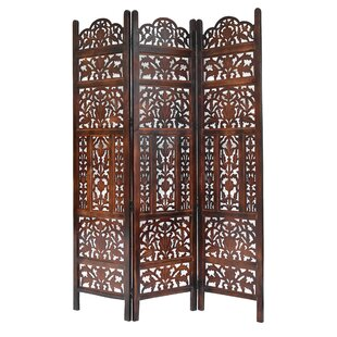Weatherford 3 Panel Room Divider by Bloomsbury Market