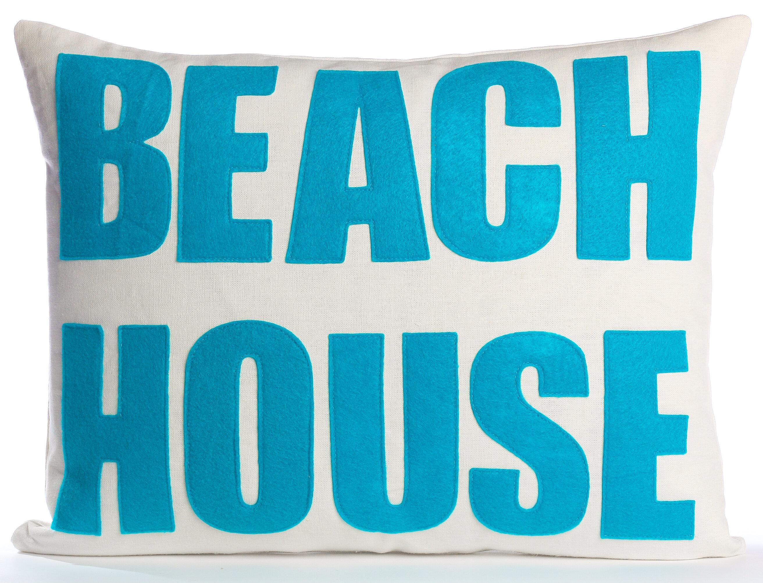 Alexandra Ferguson Space Defined Beach House Throw Pillow & Reviews ...