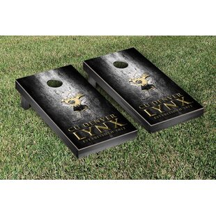 Victory Tailgate Colorado Denver Lynx Metal Version Cornhole Game Set