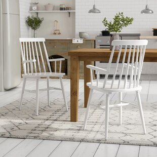 Brook Solid Wood Dining Chair (Set Of 2) By Marlow Home Co.