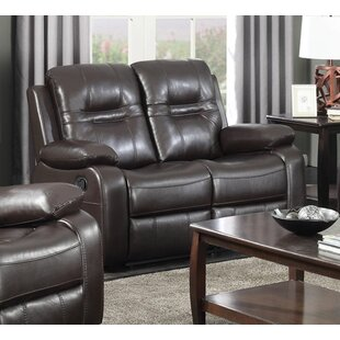 Napolean Leather Reclining Lov..