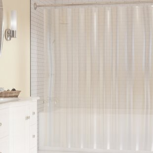 PEVA Single Shower Curtain Liner By Symple Stuff