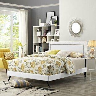 Shop For Huntsman Upholstered Platform Bed by Mercer41 Reviews (2019) & Buyer's Guide
