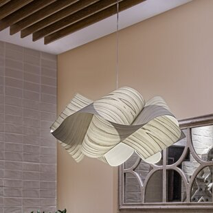 LZF Swirl 1-Light Novelty Pendant