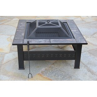 Fire Pit Essentials Steel Wood..