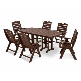 Nautical 7-Piece Dining Set by POLYWOOD?