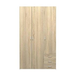Pullin 3 Door Wardrobe By 17 Stories