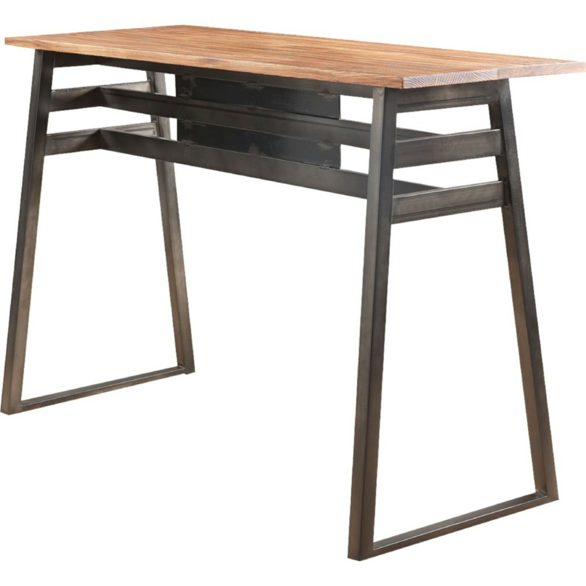 Esther Rectangular Wooden Pub Table