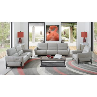 Looking for Branchdale 3 Piece Leather Reclining Living Room Set by Orren Ellis Reviews (2019) & Buyer's Guide