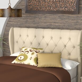 Great Price Yasser Upholstered Wingback Headboard by World Menagerie