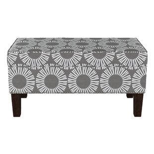 Wrought Studio Edford Wood Storage Bench