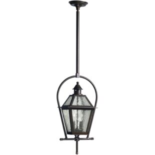 Scheuerman 2-Light Outdoor Hanging lantern by Laurel Foundry Modern Farmhouse