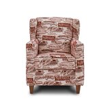 Gambrell Rouge 20 Wingback Chair by Loon Peak
