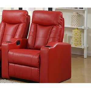 Eugenia Home Theater Left Facing Recliner by Latitude Run