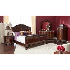 Vista Sleigh Bed by Astoria Grand