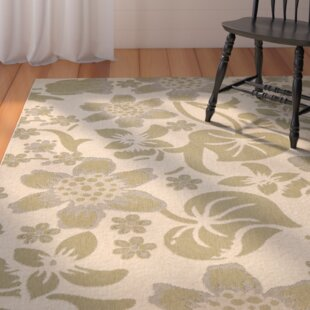 Laurel Cream/Green Indoor/Outdoor Rug