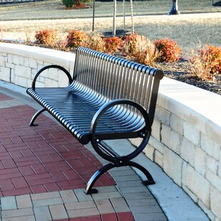 Wellington Steel Park Bench