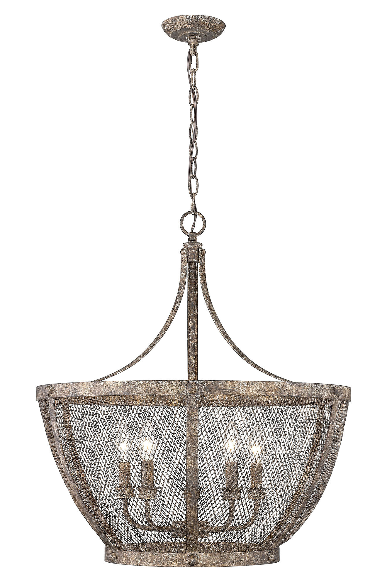 Gracie Oaks Lino 5 Light Unique Statement Bowl Pendant Wayfair