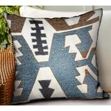 Garvin Geometric Luxury Indoor/Outdoor Throw Pillow