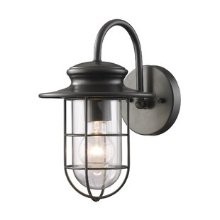 Garr 1-Light Outdoor Barn Light