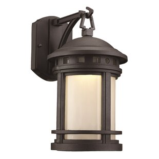 Boardwalk 1-Light Outdoor Wall Lantern By TransGlobe Lighting Outdoor Lighting