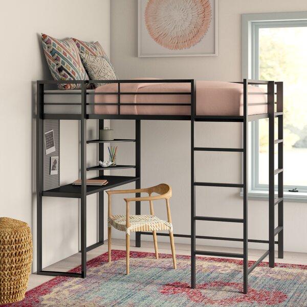 Loft Full Bed With Desk Wayfair