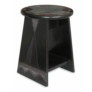 African Beauty Wood End Table by Novica