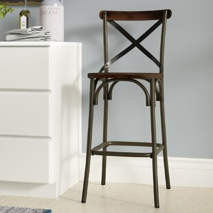 Isaac 30 Bar Stool (Set of 2) Laurel Foundry Modern Farmhouse