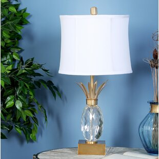 Affordable Harpersfield Pineapple 26 Table Lamp By Bayou Breeze