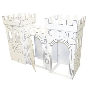 Reviews Castle 5.92' x 1.92' Playhouse By FunDeco