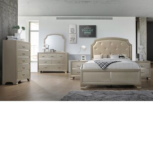Harmony Panel 4 Piece Bedroom Set by House of Hampton