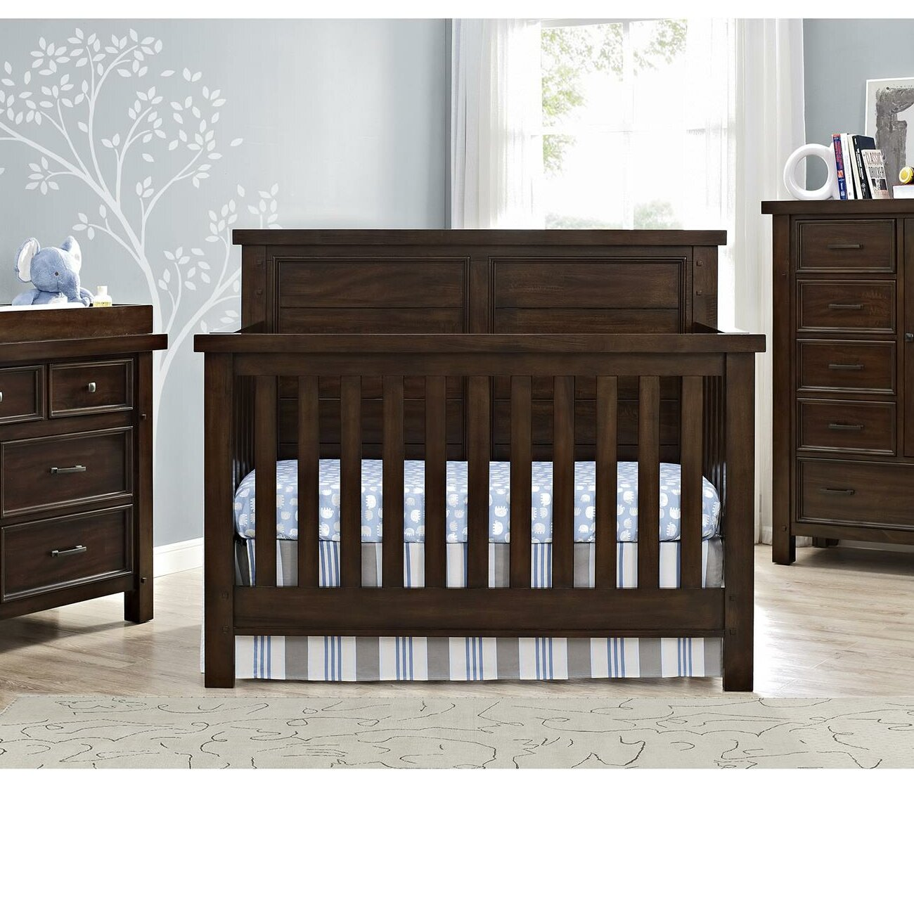 Wayfair   Brown & White Cribs You'll Love in 21