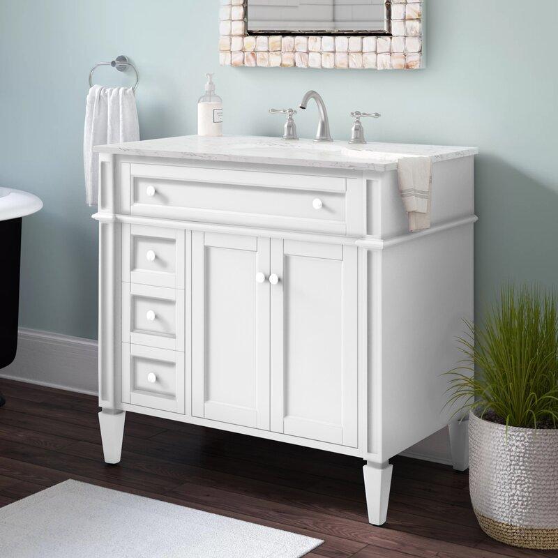 Mercury Row Burkholder 36 Single Bathroom Vanity Set Reviews Wayfair