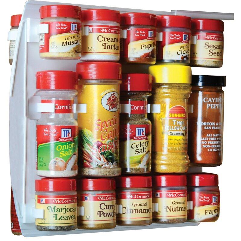 Rebrilliant 40 Jar Spice Rack Reviews Wayfair