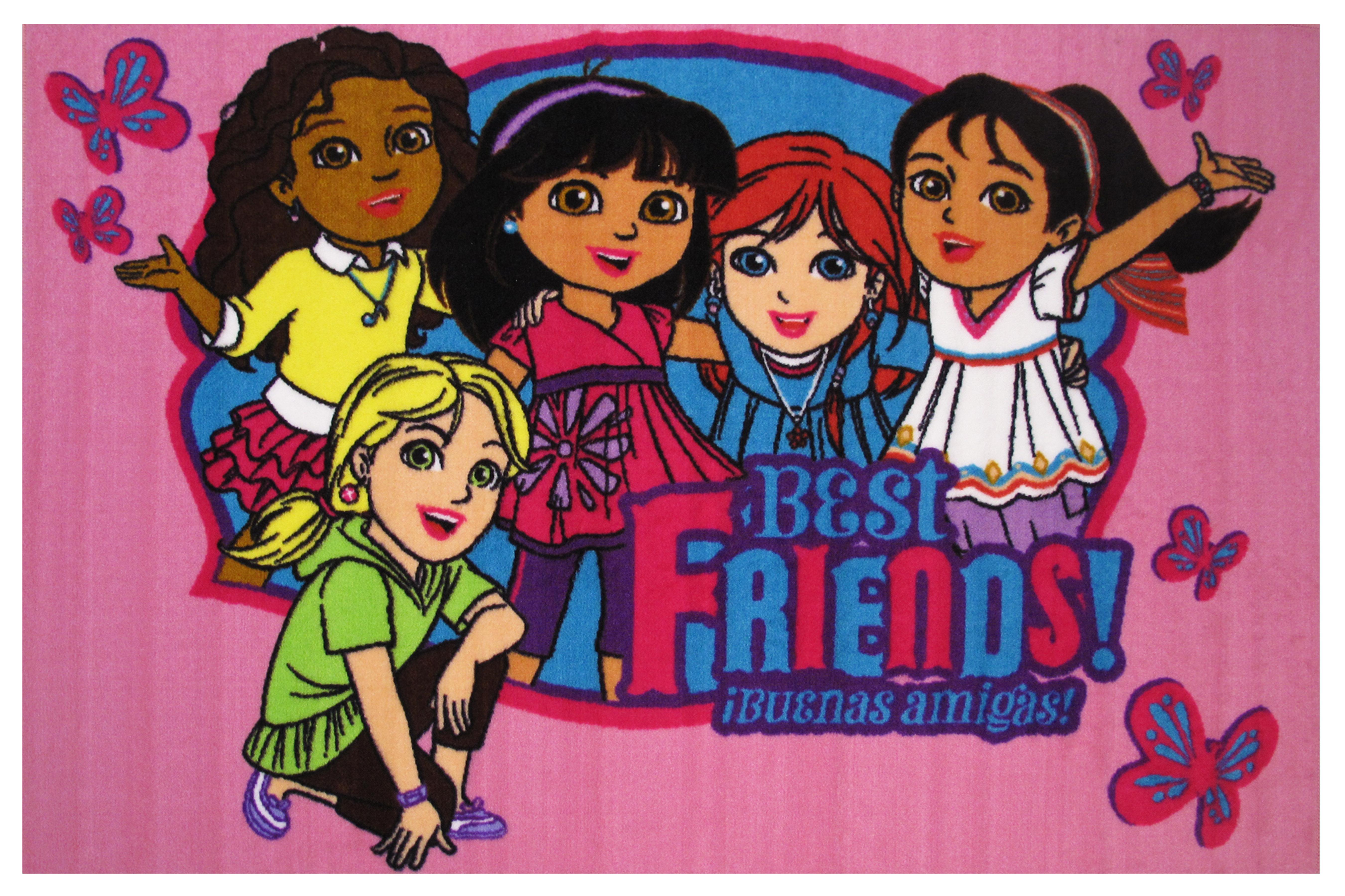 Fun Rugs Dora Best Friends Area Rug Wayfair